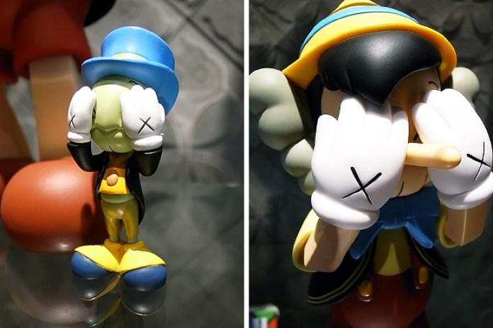 OriginalFake x Medicom Toy Pinocchio & Jiminy Cricket Set