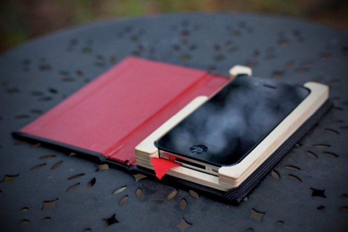 """Pad & Quill """"The Little Black Book"""" iPhone Case"""