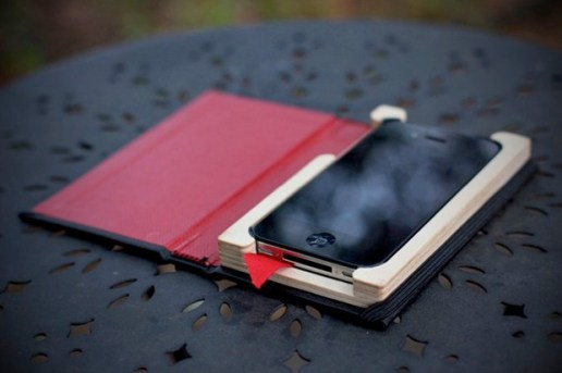 "Pad & Quill ""The Little Black Book"" iPhone Case"