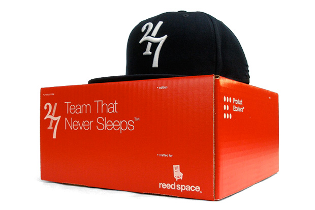 """Reed Space x Product Etcetera TwentyFour/Seven """"Team That Never Sleeps"""" Fitted Cap"""