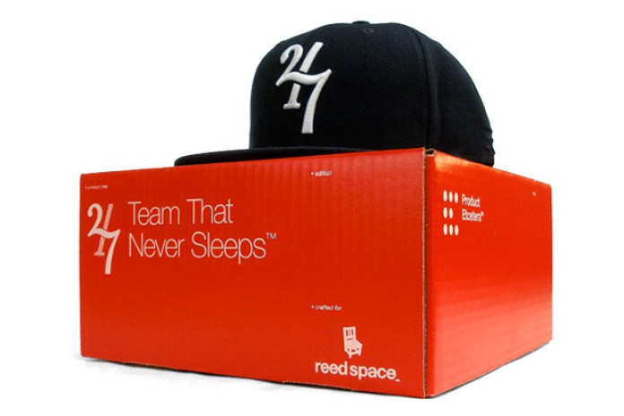 "Reed Space x Product Etcetera TwentyFour/Seven ""Team That Never Sleeps"" Fitted Cap"