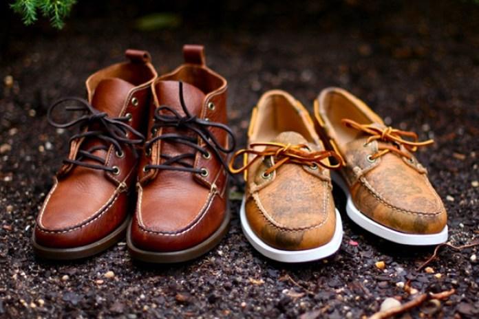 Ronnie Fieg x Jake Davis Sebago Nexus Project Footwear