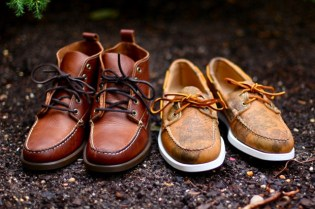 Ronnie Fieg x Jake Davis Sebago Nexus Project Footwear