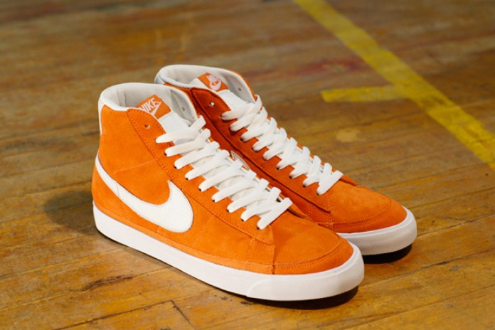 size? x Nike Sportswear Blazer Orange/White