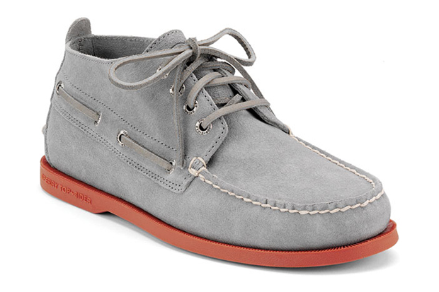 "Sperry Top-Sider Cloud Logo Authentic Original Chukka ""Red Brick"""