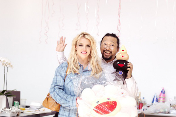 Takashi Murakami x Britney Spears for POP Magazine