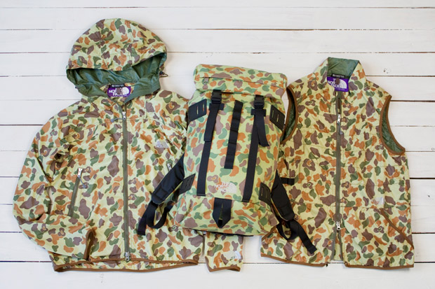THE NORTH FACE PURPLE LABEL 2010 Fall/Winter Camouflage Collection
