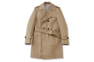 Thom Browne Classic Unconstructed Trench Coat