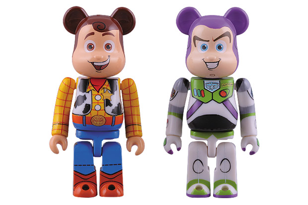 Toy Story x MEDICOM TOY BEARBRICK Buzz Lightyear & Woody Pack