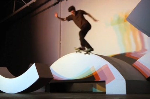 Transworld Skate & Create 2010: adidas - Light, Shape, Color