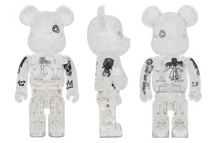 UNKLE x Medicom Toy 100% & 400% Bearbricks