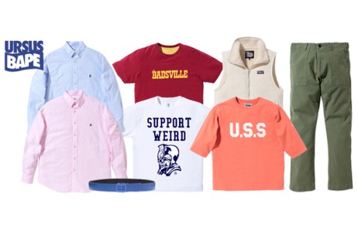 URSUS BAPE 2010 August New Releases