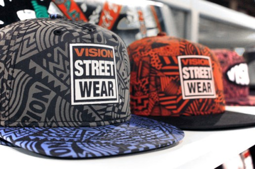 Vision Street Wear 2011 Spring/Summer Headwear Preview