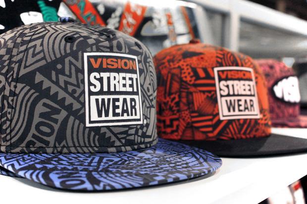 Vision Street Wear 2011 Spring/Summer Headwear Preview