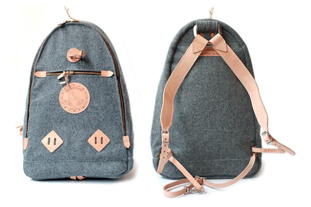 Yuketen Melton Wool Backpack