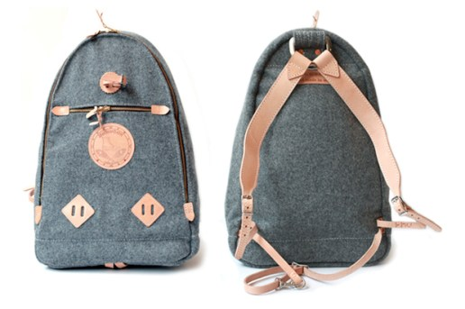 Yuketen Melton Wool Backpack
