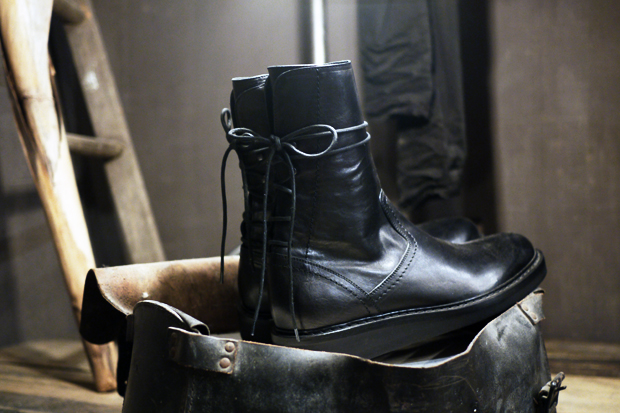 Ann Demeulemeester Laced-Up Boots