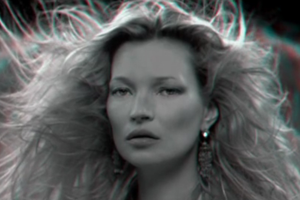 AnOther Magazine: KM3D-1 with Kate Moss in 3D