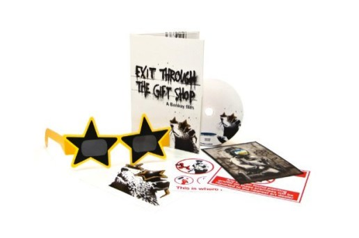 "Banksy ""Exit Through The Gift Shop"" DVD and Blu-ray"
