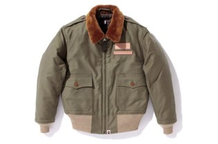 A Bathing Ape x Toys McCoy Bomber Jacket