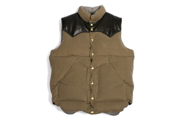 Beauty & Youth x Rocky Mountain Featherbed Down Vest