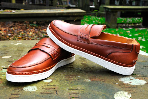 BePositive College Leather Loafer