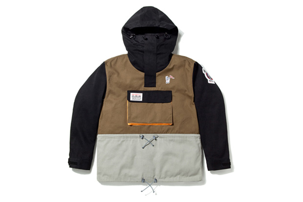 Billionaire Boys Club Pull-Over Twill Parka