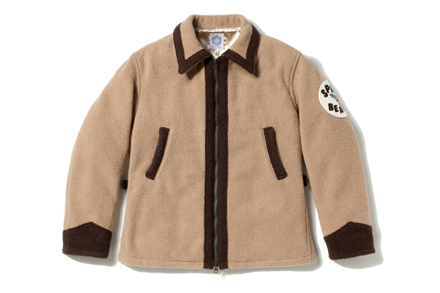 Billionaire Boys Club Space Beach Wool Boucle Jacket