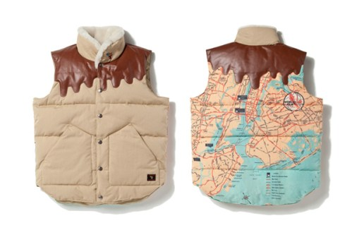 Billionaire Boys Club Space Beach World Fair Down Vest