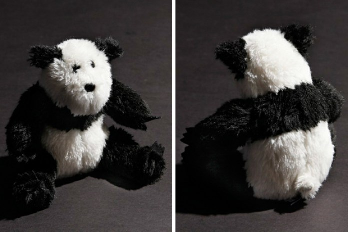 Bounty Hunter x fragment design Panda Teddy Bear