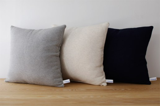 BUILDING x Loopwheeler Pillow Collection
