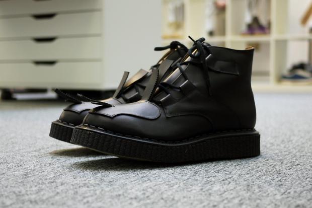"Casely-Hayford x John Moore 2011 Spring/Summer ""Toe Strap"" Boot"