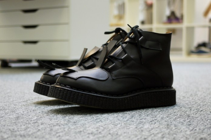 "Casely-Hayford x John Moore 2011 Spring/Summer ""Toe Strap"" Boot"