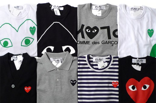 COMME des GARCONS PLAY 2010 Fall/Winter New Releases