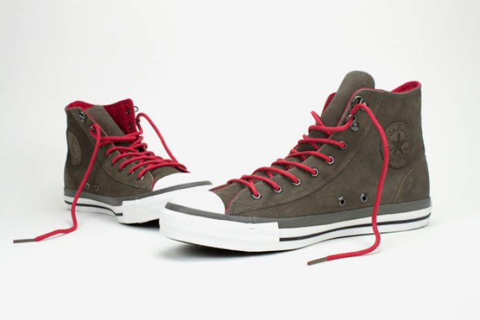Converse Chuck Taylor All Star Brown Suede Hi