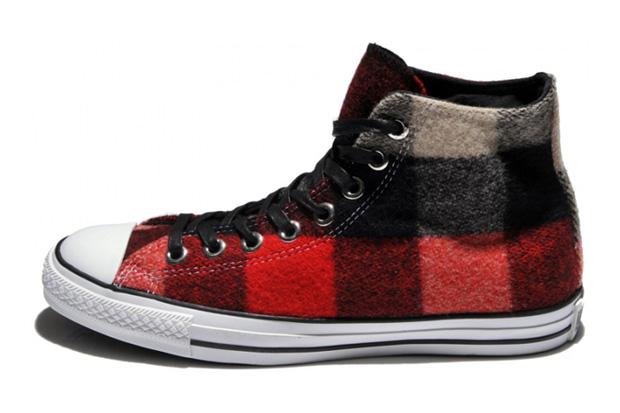 Converse x Woolrich 2010 Fall/Winter Footwear - A Closer Look