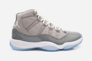 "Air Jordan XI ""Cool Grey"" Retro Preview"