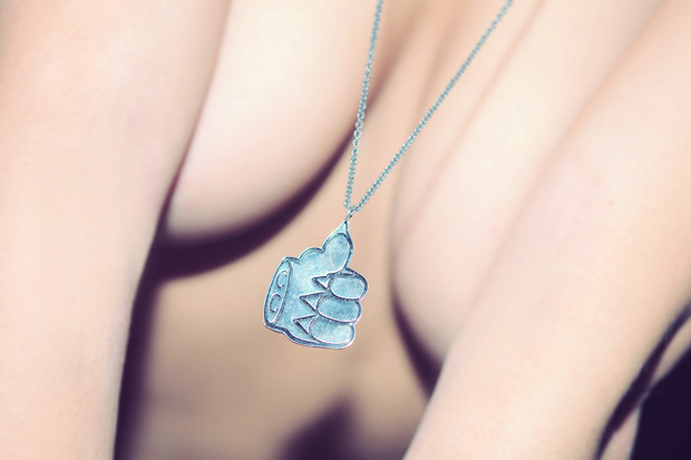Cool Cats Patte de Chat Necklace