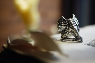 Crazy Pig Designs Facehugger Ring