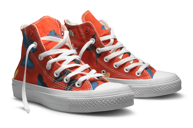 Damien Hirst x Converse (PRODUCT)RED Chuck Taylor Hi