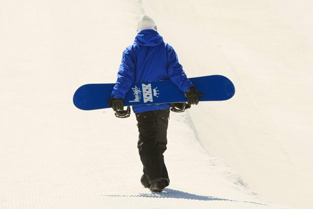 Daylife x Stussy 30th Anniversary Snowboard