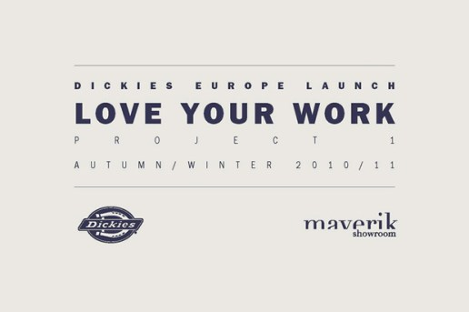 "Dickies ""Love Your Work"" Exhibition London"