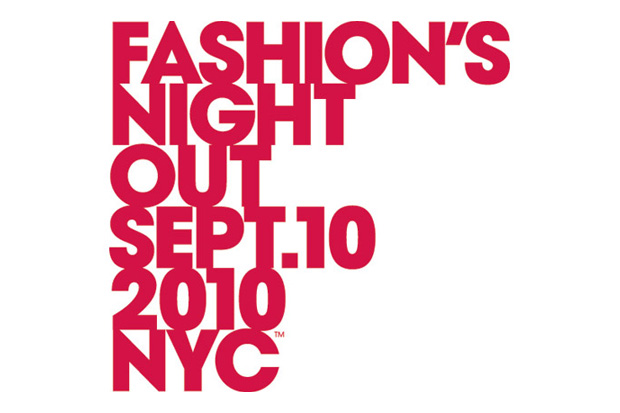 Fashion's Night Out September 10th 2010 NYC
