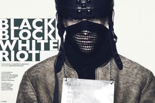 "Fiasco Magazine ""Black Block White Riot"" Editorial"