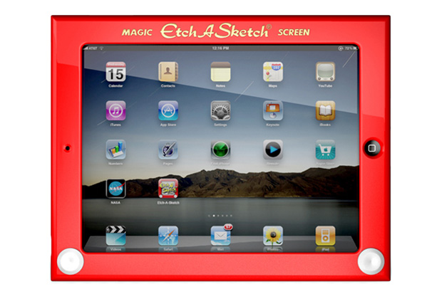 "Headcase ""Etch A Sketch"" iPad Case"