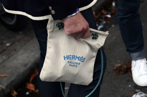 Streetsnaps: Hermès Tote