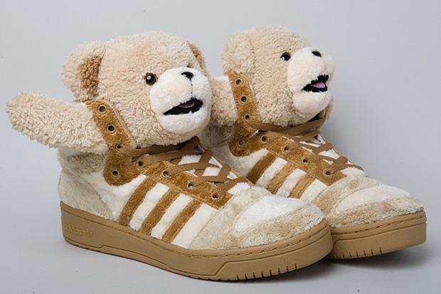 """Jeremy Scott x adidas Originals by Originals 2011 Spring/Summer """"Teddy Bears"""" Brown"""