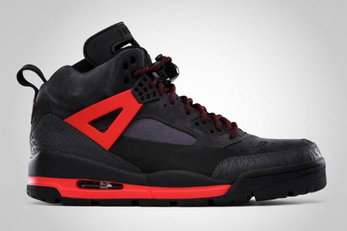 Jordan Winterized Spiz'ike Black/Challenge Red