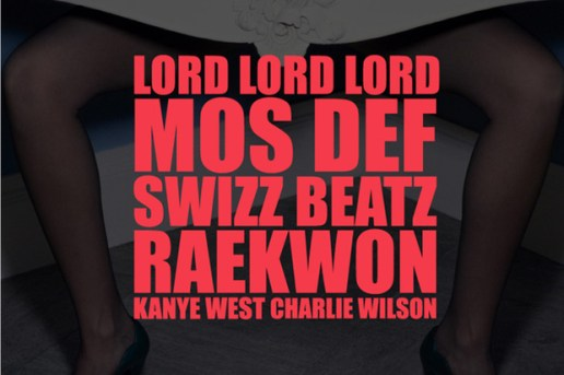 Kanye West featuring Mos Def, Swizz Beatz, Raekwon, Charlie Wilson - Lord Lord Lord