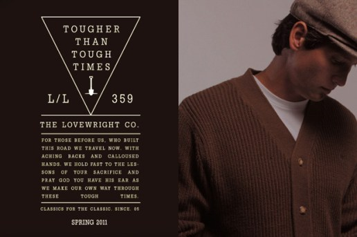 The Lovewright Co. 2011 Spring Preview
